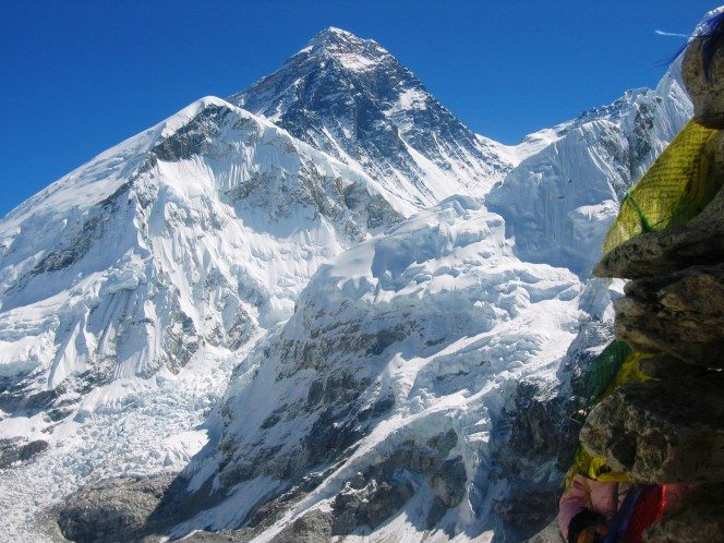 View mt. Everest  from kalapater,